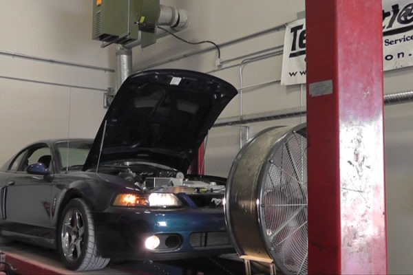 Mystichrome Terminator Mustang Dyno